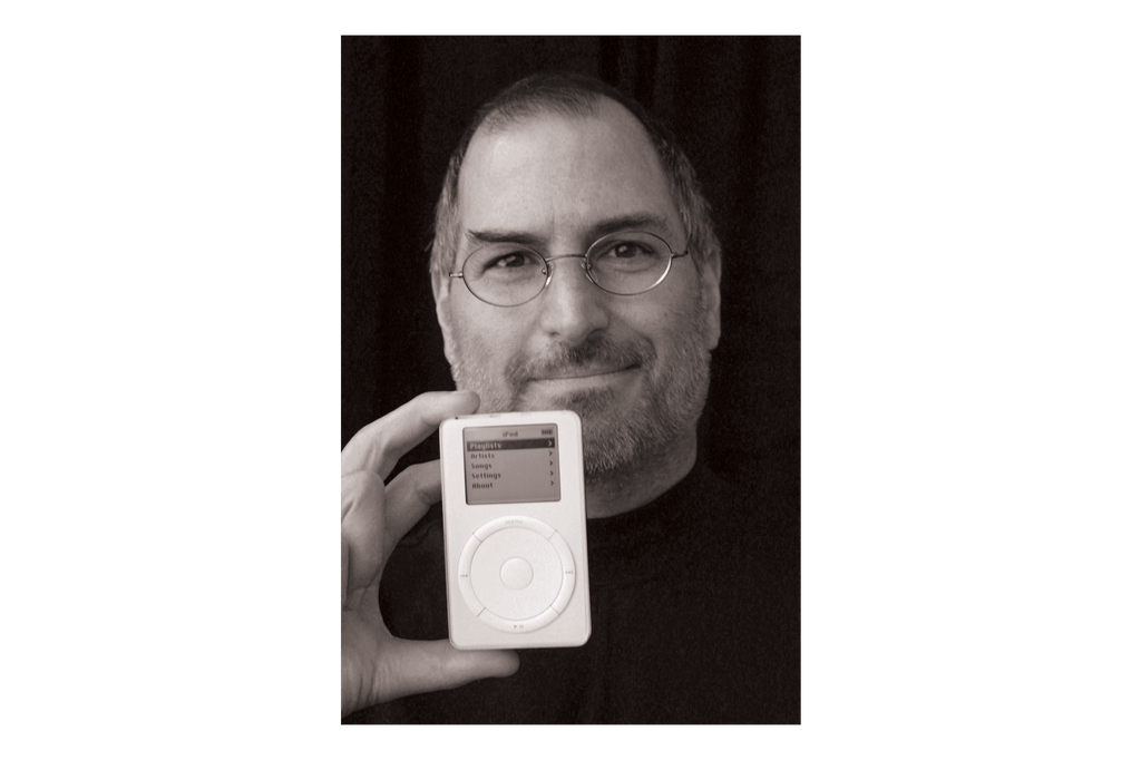 iGeneration: Steve Jobs introducing the iPod in 2001.