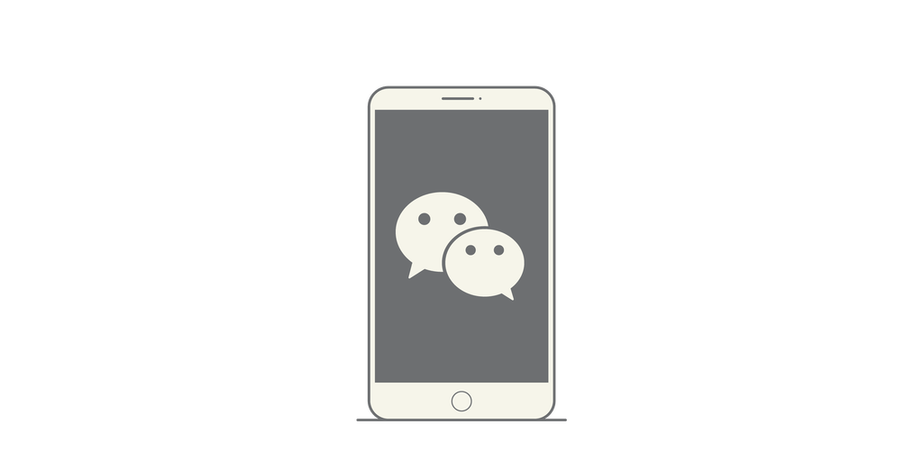 WeChat – Designed by Tencent (Zhang Xiaolong), 2011