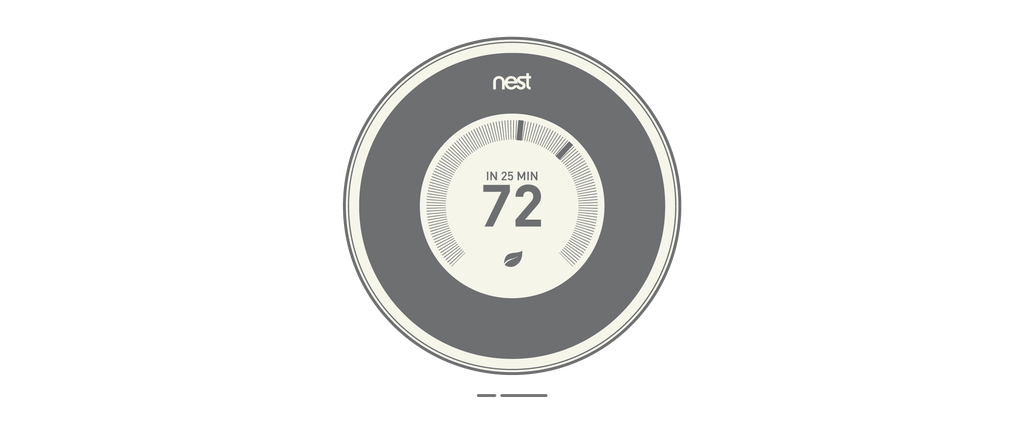Nest Learning Thermostat – Designed by Nest Labs (Tony Fadell), 2011