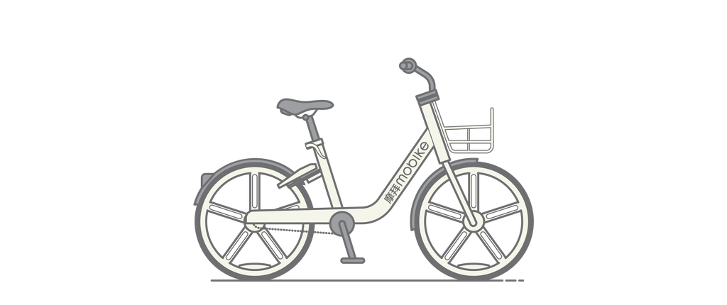 Mobike – Designed by Beijing Mobile Bike Technology, 2015