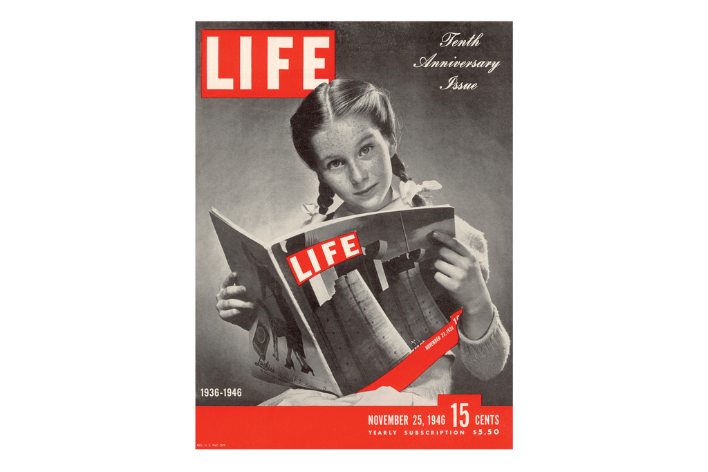 Life Magazine – Designed by Time Inc., 1936