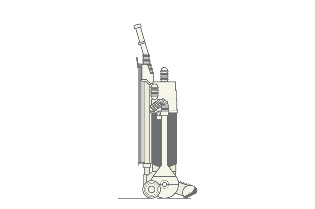 Dyson Bagless – Designed by James Dyson, 1980