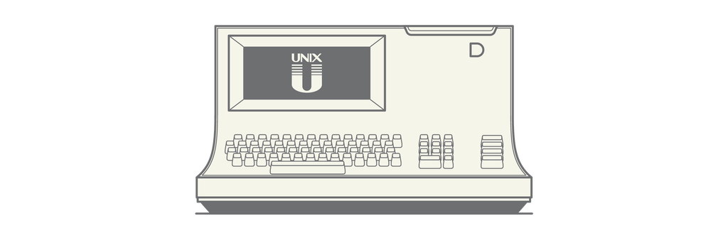 UNIX OS – Designed by Bell Labs (Ken Thompson + Dennis Ritchie), 1970